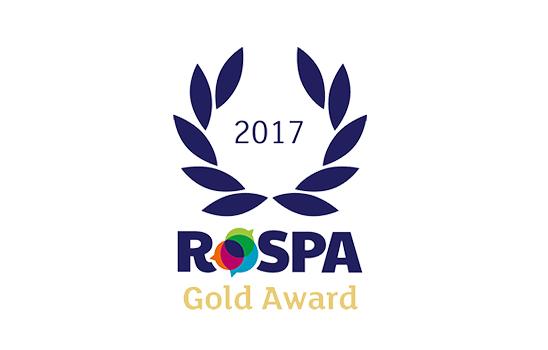 AE Global picks up their 3rd consecutive RoSPA Gold Award